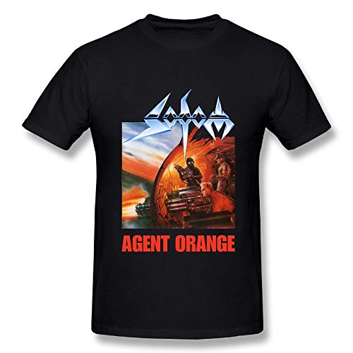 Herren Sod Agent Orange T-Shirts Schwarz