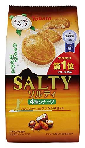 東ハト ソルティ4種のナッツ 10枚 ×12袋