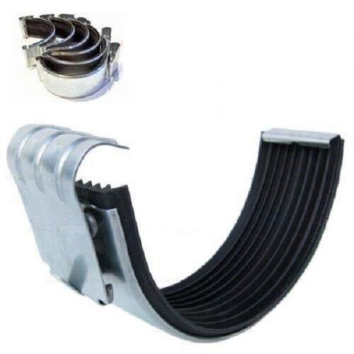 10Stk. Dachrinnenverbinder f. Dachrinne verzinkt Größe 6-tlg/333 NW33