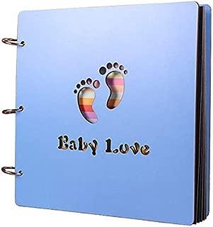 16inch Blue Baby Love Vintage Hollowed Photo Image Album Scrapbook Memory