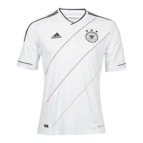 adidas Trikot Herren DFB EM 2012 Home (White/Black, XL)