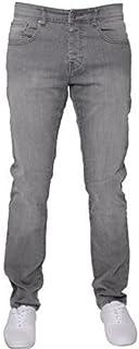 Enzo New Mens Designer Stretch Skinny Slim Blue Denim Jeans All Waist Sizes