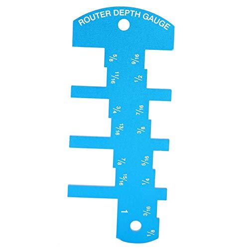 Medidor de altura de profundidad de sierra de mesa 1pcs para medición industrial