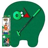 Golf-Toiletten-Set   Komplettpaket   Toiletten/WC Spiel   Premium Qualität   Golf-Set   1 Green   1 Putter   1 Fahne und 1 Cup   2 Golfbälle   Von OriginalCup®