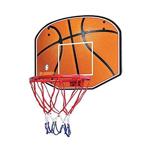 ZXQZ Juego Tablero y Aro Baloncesto para Niños, Montado En La Pared con Bola Red y Bomba, Juguetes Deportivos Portátiles para Interiores Y Exteriores para Niños (Color : Style5)