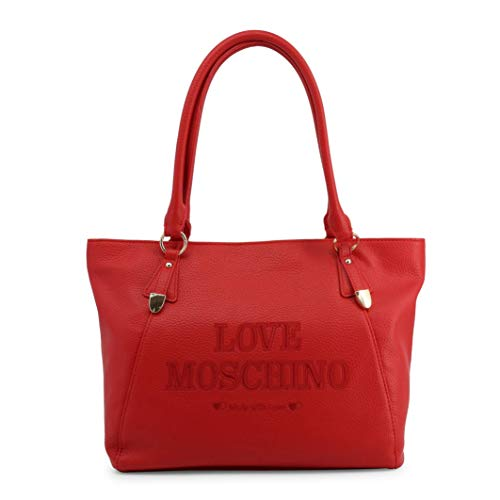 Love Moschino Tasche mit zwei Henkeln aus Eopelle ROSSA A/I 2019/20