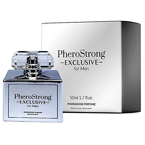 PheroStrong EXCLUSIVE Pheromone für Männer I Pheromone Parfum Herren Feromone für Männer Parfum I Menschlichen Pheromonen I Aphrodisiakum I Macht Männer für Frauen attraktiv
