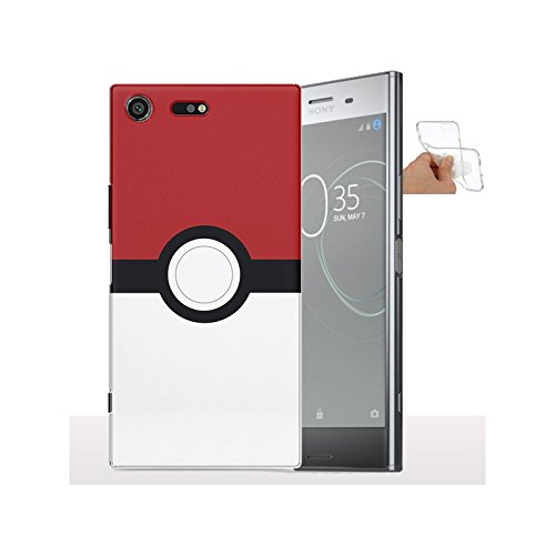 My-Coque Coque Xperia XZ Premium Pokemon Ball - Housse Gel de Silicone pour Smartphone