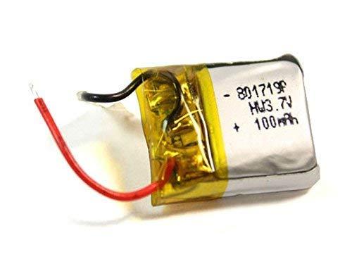 efaso Batería de repuesto para Syma X12S (3,7 V, 100 mAh)