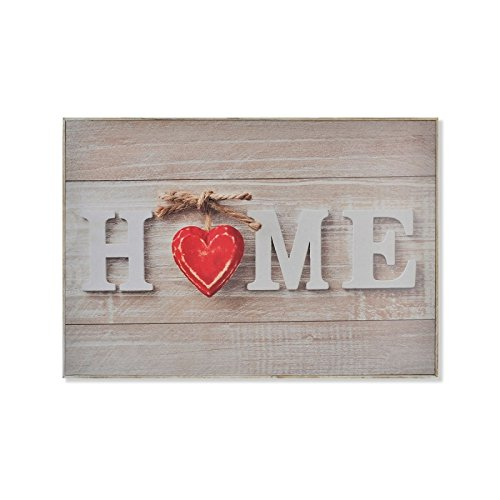 D,casa - Tapa de contador romantico Love 46x32x7 cm