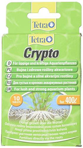 Tetra Crypto 10compresse di radice di Fertilizzante per Lush Healthy Acquario Piante