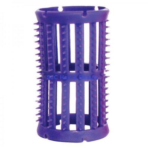 Skelox - Pack de 12 Rouleaux en Plastique pour Cheveux - 36mm - Lila