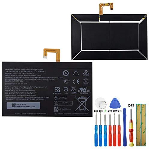 E-yiiviil L14D2P31 - Batería de repuesto compatible con Lenovo Tab 2 A10-70 Tab 2 A10-70F Tab2 X30F con herramientas