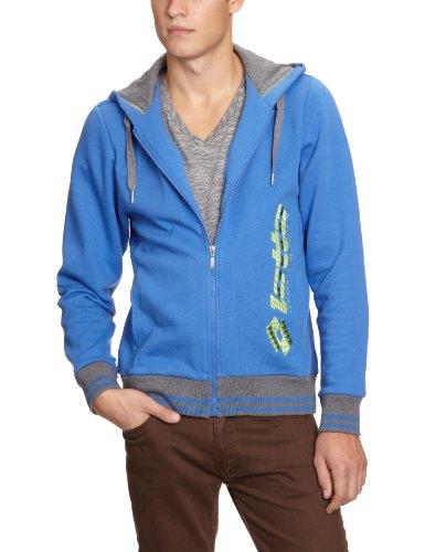 Lotto N9271 IAN FL HD Veste de Sport pour Homme M Turquoise - Bleu