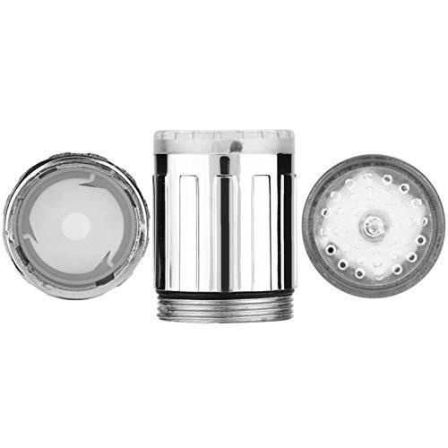 T-Day Grifo de Agua, Grifo de Agua, Sensor de Temperatura Que Cambia de Color, luz LED, Grifo de Agua, Accesorio para baño de Cocina