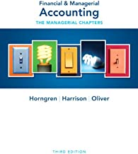 Best financial and managerial accounting horngren 3rd edition Reviews