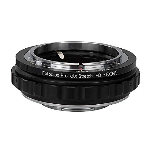 Fotodiox DLX Stretch Lens Mount Adapter - Canon FD & FL 35mm SLR Lens compatibel met Fuji X-Series Mirrorless Camera Body met Macro Focusing Helicoid and Magnetic Drop-In filters