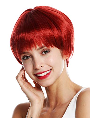 WIG ME UP - VK-53-135 Parrucca donna Corta Liscia Page Pageboy haircut Rosso Rosso ramato
