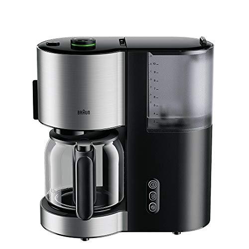 Braun Household Braun IDCollection koffiezetapparaat KF 5105 BK – koffiezetapparaat, met AromaSelect & 10 kopjes thermoskan, perfect genot, 1000 W, zwart/roestvrij staal, kunststof