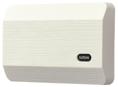 "Broan-NuTone LA11BG Wired Doorbell Kit, Decorative Two-Note Door Chime for Home, 2.38"" x 8.13"" x 5.5"", Honey Beige"