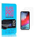 Bear Village® Screen Protector for iPhone XR 9H Scratch Resistant HD Tempered Glass Screen Protector Film for iPhone XR, 2 Pack