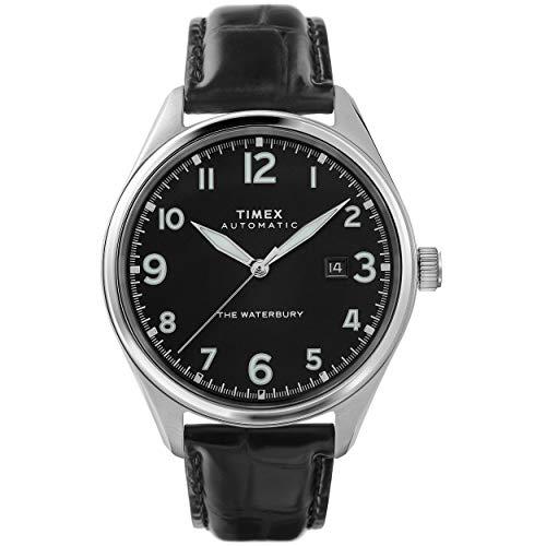Timex Waterbury Traditional Automatic Black Silver