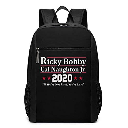 ZYWL Ricky Bobby Cal Naughton Jr 2020 Election Laptop Backpack 17-Inch Travel Backpack Bookbag Bussiness Bag