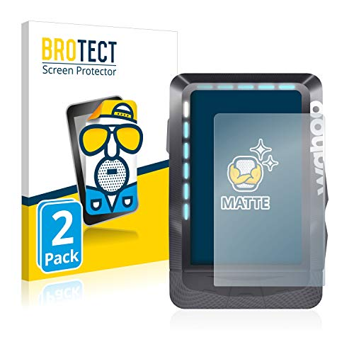 BROTECT 2X Entspiegelungs-Schutzfolie kompatibel mit Wahoo Elemnt GPS Displayschutz-Folie Matt, Anti-Reflex, Anti-Fingerprint