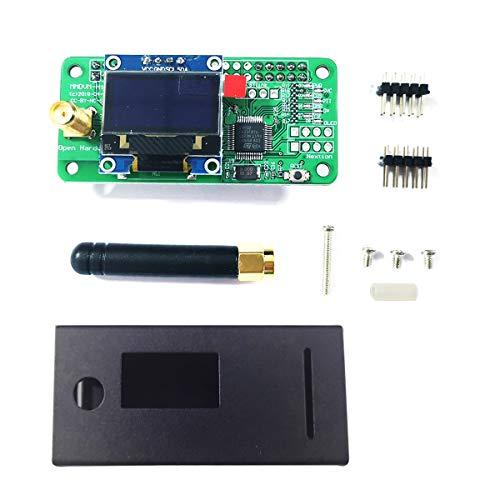 Hima Antenna + OLED + MMDVM Hotspot + Black Case Unterstützung P25 DMR YSF mit Bildschirm Für Raspberry Pi