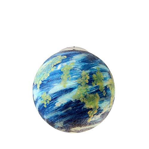 FCHMY Planet Chandelier Nordic Creative Resina Lámpara Colgante de Techo E27 Pantalla Certificación CE/ERP Universo Tierra Sol Luna Venus Júpiter Urano Marte Saturno Lámpara Colgante, Tierra 15.