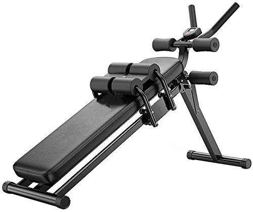 LDM Sit-Ups Fitnessgeräte Home Multifunktion EIN Bauchgerät Taille reduzieren Bauch reduzieren Dünne Bauchrolle Neigung kann eingestellt Werden 3-Fach einstellbare Lagerung