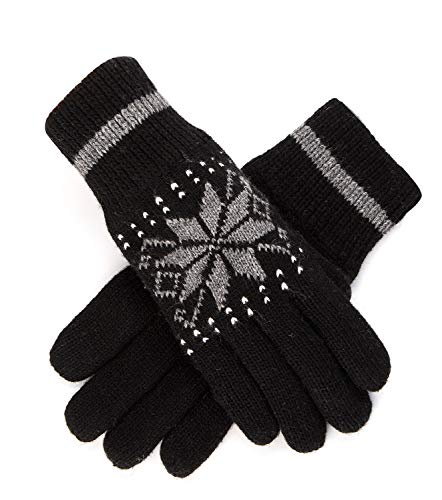 Women's Winter Knitted Gloves Thick…