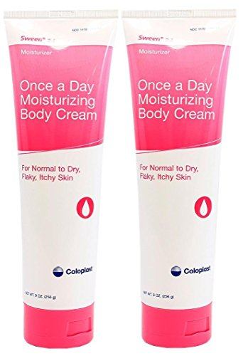 Sween 24 Skin Protectant Cream - 9 Ounce Tube - Pack of 2