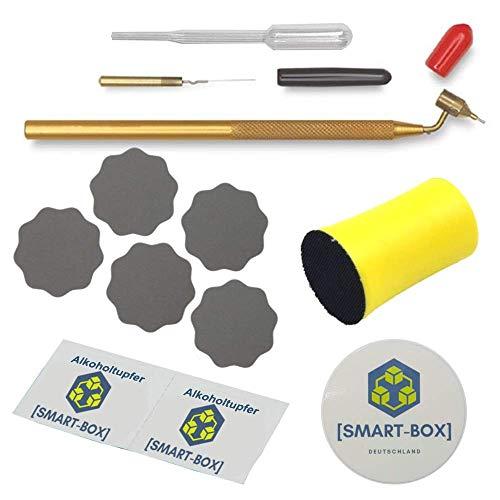 [SMART-BOX] Komplett Set - Lackstift für Autolack & Felgen   Lack-Reparatur-Set   mit deutscher Anleitung   Loew Cornell Fine Line Painting Pen   Kemper Fluid Writer Pen