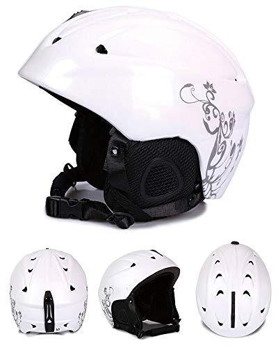 DFKDGL Skihelm Winter Snowboard Helm, Snowboard Ultralight Winter Warm Shockproof/Winddicht Beschermende Gear voor Skiën…