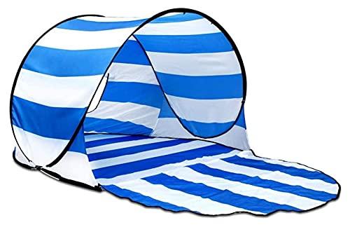 Ankon Carpas de Playa para Adultos al Aire Libre Familia Sun Shelter Tienda Carpa Playa Tienda Ligera Ligero Easy Carry Cabana para Camping Pesca Senderismo