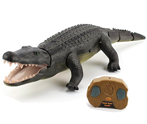 Top Race Remote Control Crocodile, Prank Crocodile RC Animal