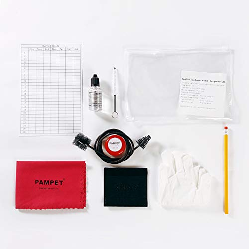 PAMPET French Horn Care and Cleaning Kit Best to Clean and Extend the Life of your Instrument!