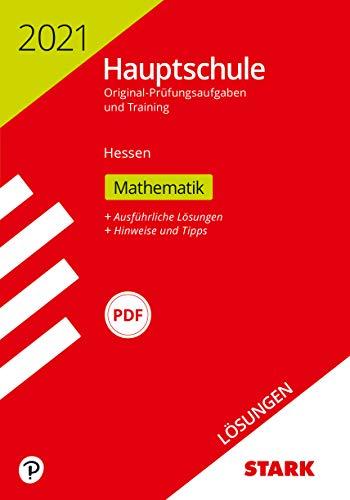 STARK Lösungen zu Original-Prüfungen und Training Hauptschule 2021 - Mathematik - Hessen