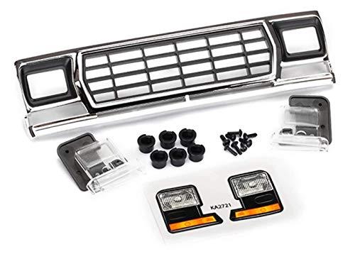 Traxxas TRA8070 Kühlergrill, Ford Bronco/Grill Halterungen (3)/ Scheinwerfergehäuse (2)/ Linse (2) (passend für #8010 Karosserie)