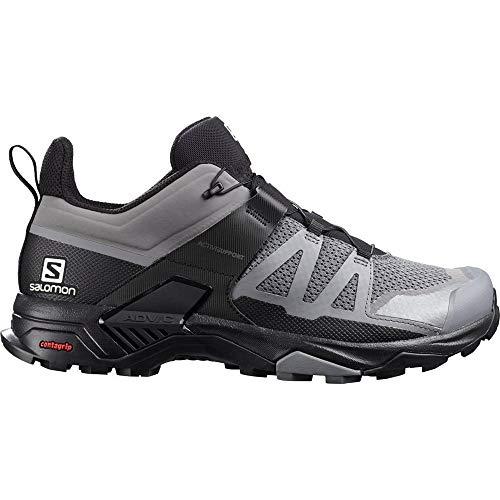 SALOMON X Ultra 4, Zapatillas de Senderismo Hombre, Quiet Shade/Black/Quiet Shade, 42 2/3 EU