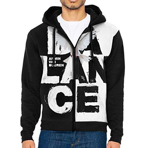 Armin Van Buuren Balance - Sudadera con capucha y cremallera completa, color negro