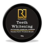 ROYAL NEEDS Coconut shell Activated Charcoal Teeth whitening Powder 50gm| Naturally whiten teeth,Removes