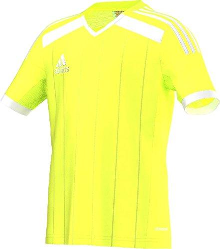 Adidas Climacool Regista 14 - Camiseta de fútbol para hombre (talla L), color amarillo neón
