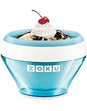 Zoku Ice Cream Maker, Kunststof, Blauw, 15 ml