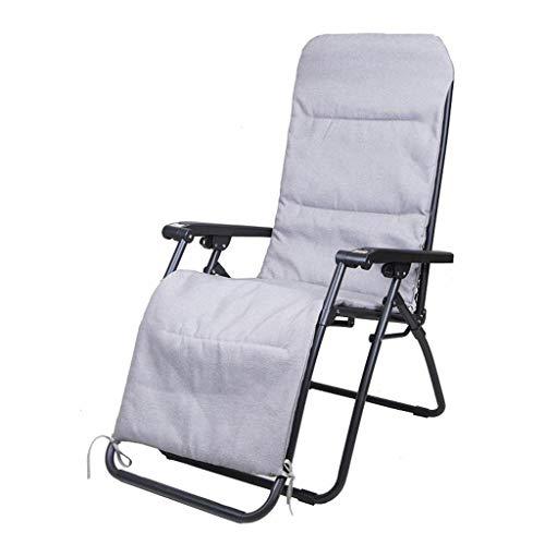 Chaise Longue Pliante et inclinable, siège de Coussin épais et Relaxant for Jardin à Inclinaison réglable for l'utilisation du Salon de Jardin, Chaise Pliante de gravité zéro, Max. 250 kg