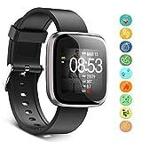 Seneo Reloj Inteligente Hombre, Reloj de Seguimiento de Actividad, Podómetro Deportivo con Monitor de Ritmo Cardíaco Monitor de Sueño para Teléfonos Inteligentes Android o iOS
