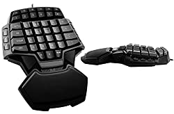 Premium Gaming USB Tastatur Gamer Pad Professioneles Keyboard FPS Spielbrett
