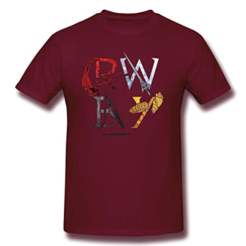 Anime Rwbys Shirt for Mens/Womens Rwbys Cosplay for Unisex Burgundy