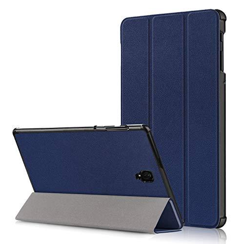 Yobby Hülle Kompatibel mit Samsung Galaxy Tab S4 10.5 T830/T835,Slim Leicht Leder Tasche Smart Schutzhülle mit Ständer Funktion und Auto Schlaf/Wachen [Kostenlos Handy Ständer]-Dunkelblau